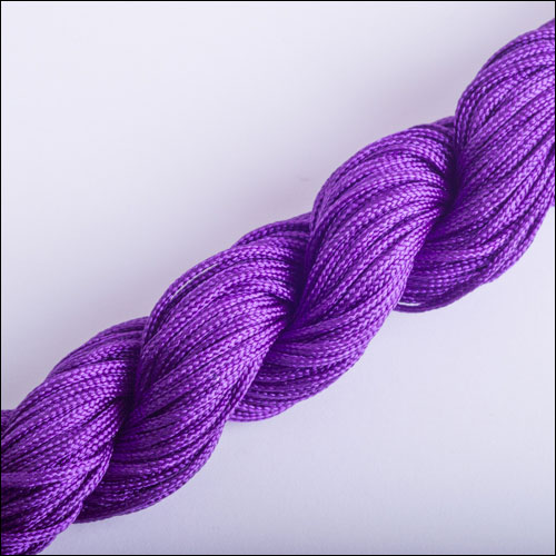 #0 Bugtail, 1mm Nylon cord, 29 yards (27m), Dark Purple