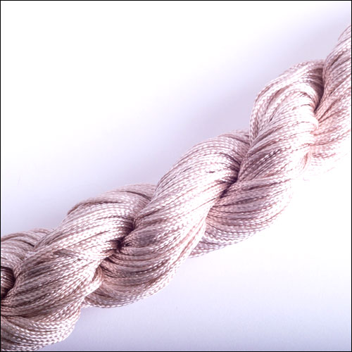 #0 Bugtail, 1mm Nylon cord, 29 yards (27m), Ivory
