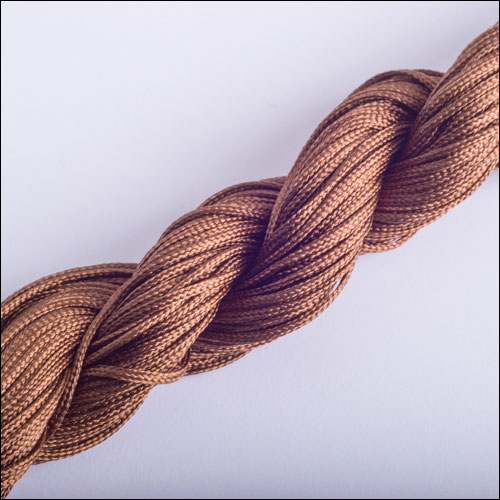 #0 Bugtail, 1mm Nylon cord, 29 yards (27m), Brown