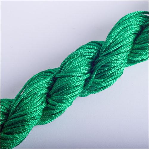 #0 Bugtail, 1mm Nylon cord, 29 yards (27m), Green