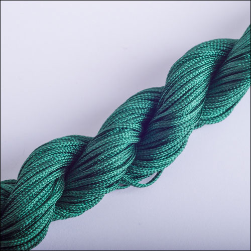 #0 Bugtail, 1mm Nylon cord, 29 yards (27m), Dark Green