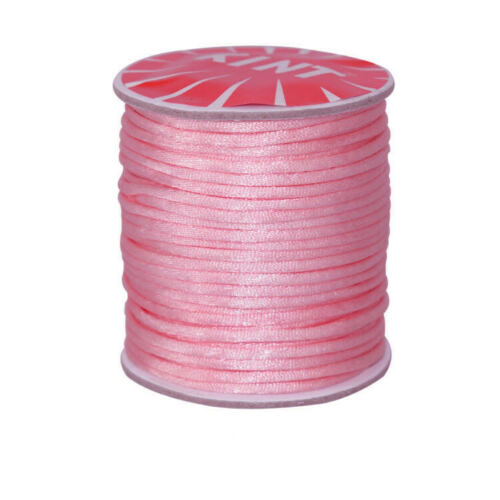#1 Mousetail, 1.5mm Nylon cord, 76 yards (70m), Pink