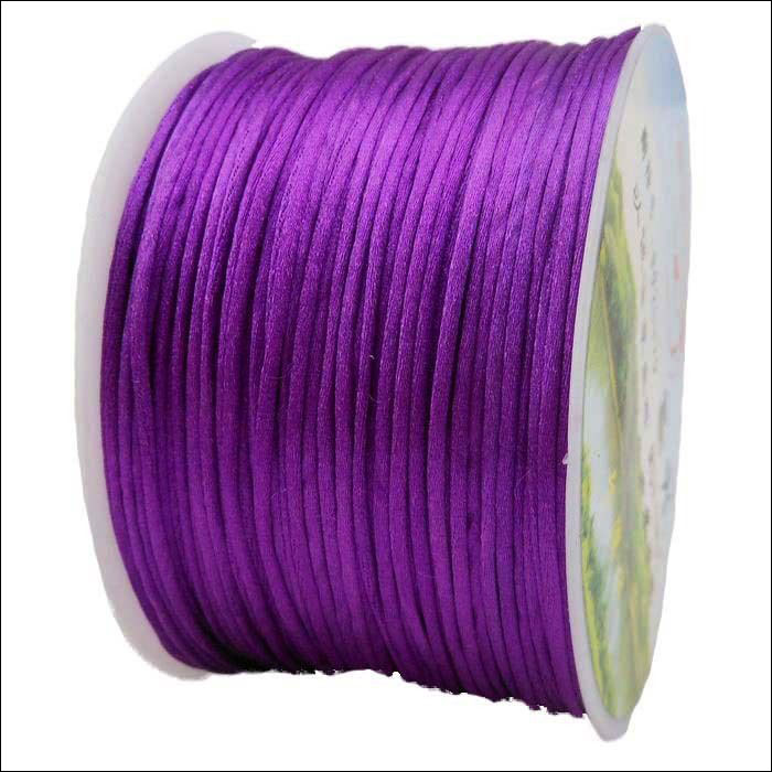 #1 Mousetail, 1.5mm Nylon cord, 76 yards (70m), Purple