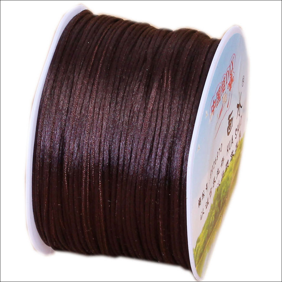 #1 Mousetail, 1.5mm Nylon cord, 76 yards (70m), Brown