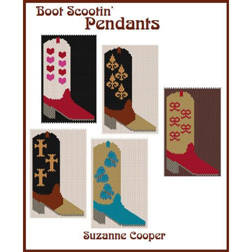 BOOT SCOOTIN PENDANTS