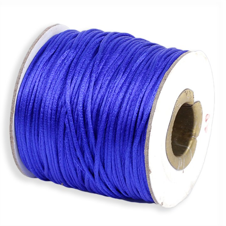 #1 Mousetail, 1.5mm Nylon cord, 76 yards (70m), Royal Blue