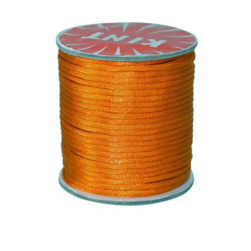 #1 Mousetail, 1.5mm Nylon cord, 76 yards (70m), Pumpkin