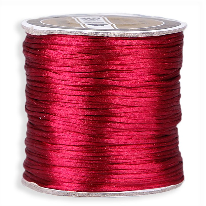 #1 Mousetail, 1.5mm Nylon cord, 76 yards (70m), Maroon