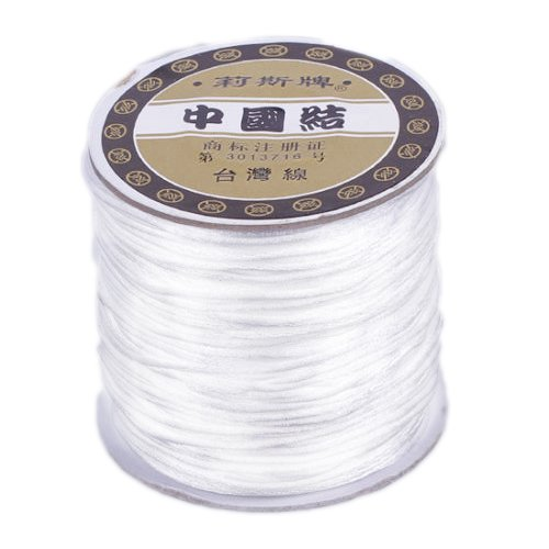 #1 Mousetail, 1.5mm Nylon cord, 76 yards (70m), White