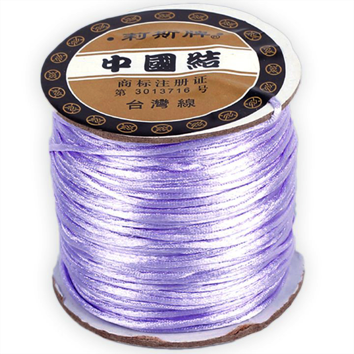 #1 Mousetail, 1.5mm Nylon cord, 76 yards (70m), Lavendar