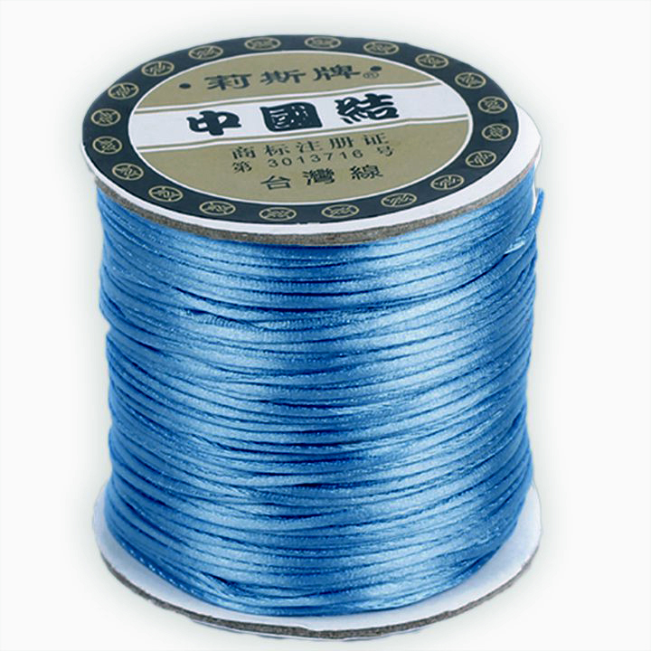 #1 Mousetail, 1.5mm Nylon cord, 76 yards (70m), Blue