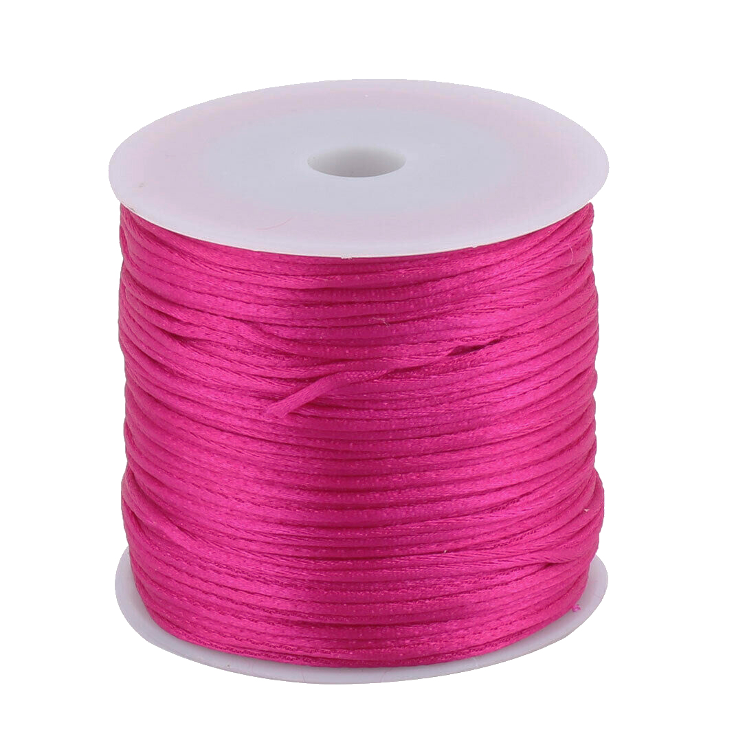 #1 Mousetail, 1.5mm Nylon cord, 76 yards (70m), Dark Rose