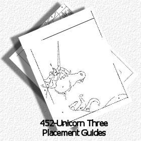 452-Unicorn Three Placement Guides