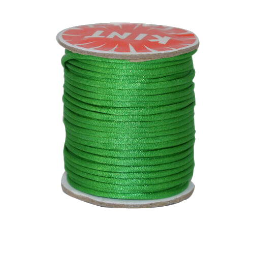 #1 Mousetail, 1.5mm Nylon cord, 76 yards (70m), Green