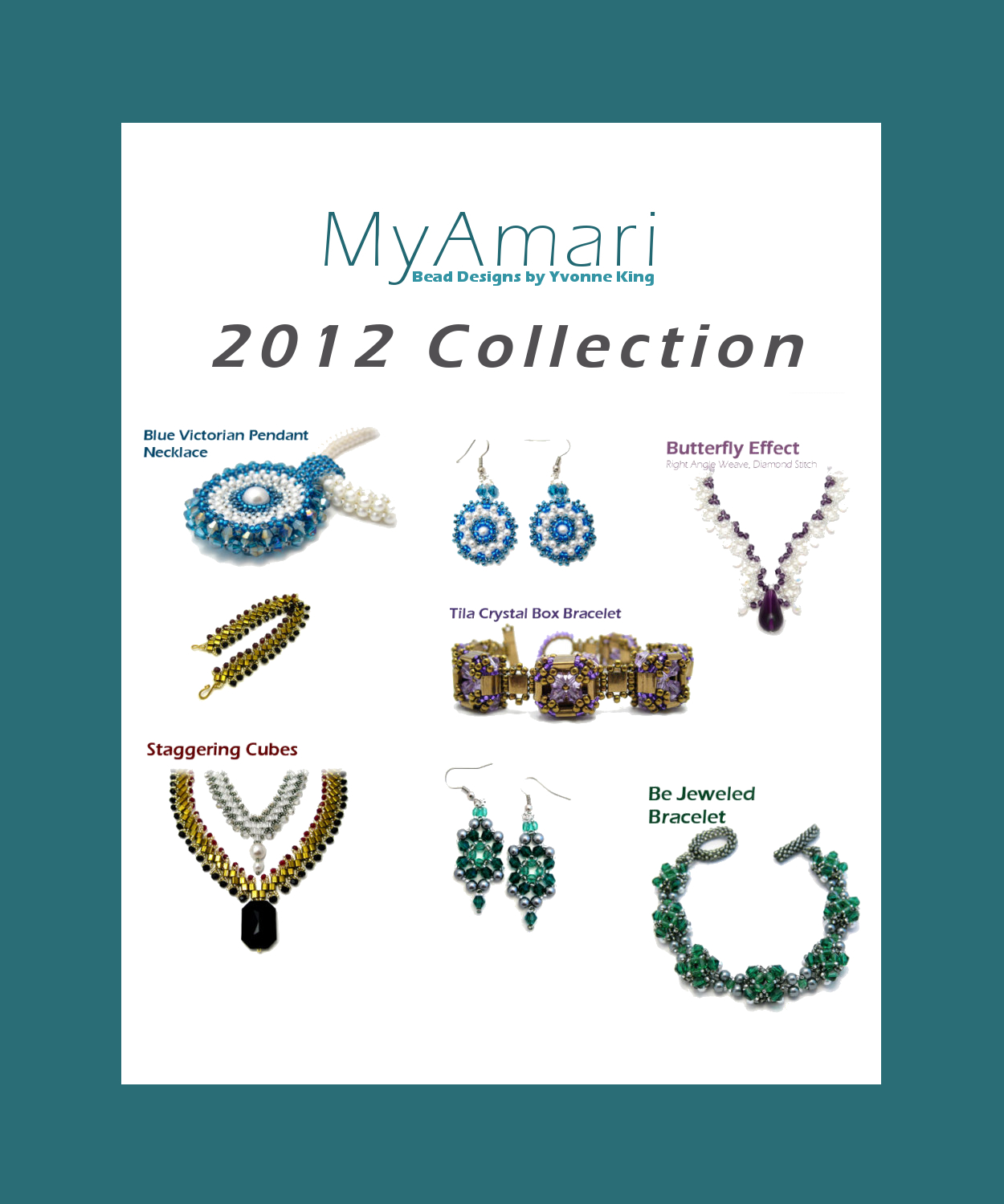 MyAmari Bead Patterns 2012 Collection
