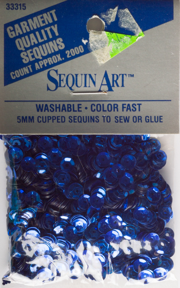 5mm Cup Sequins, 2000 pack, Royal Blue (Pre-Owned)