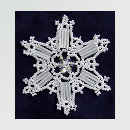 Snowflake #107 Ornament