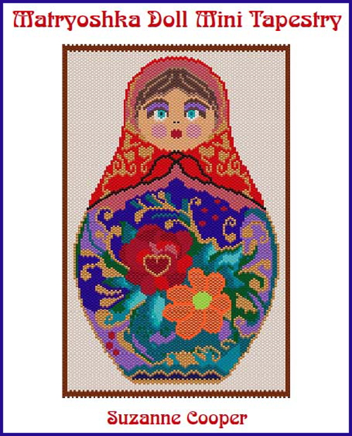MATROUSHKA DOLL MINI TAPESTRY