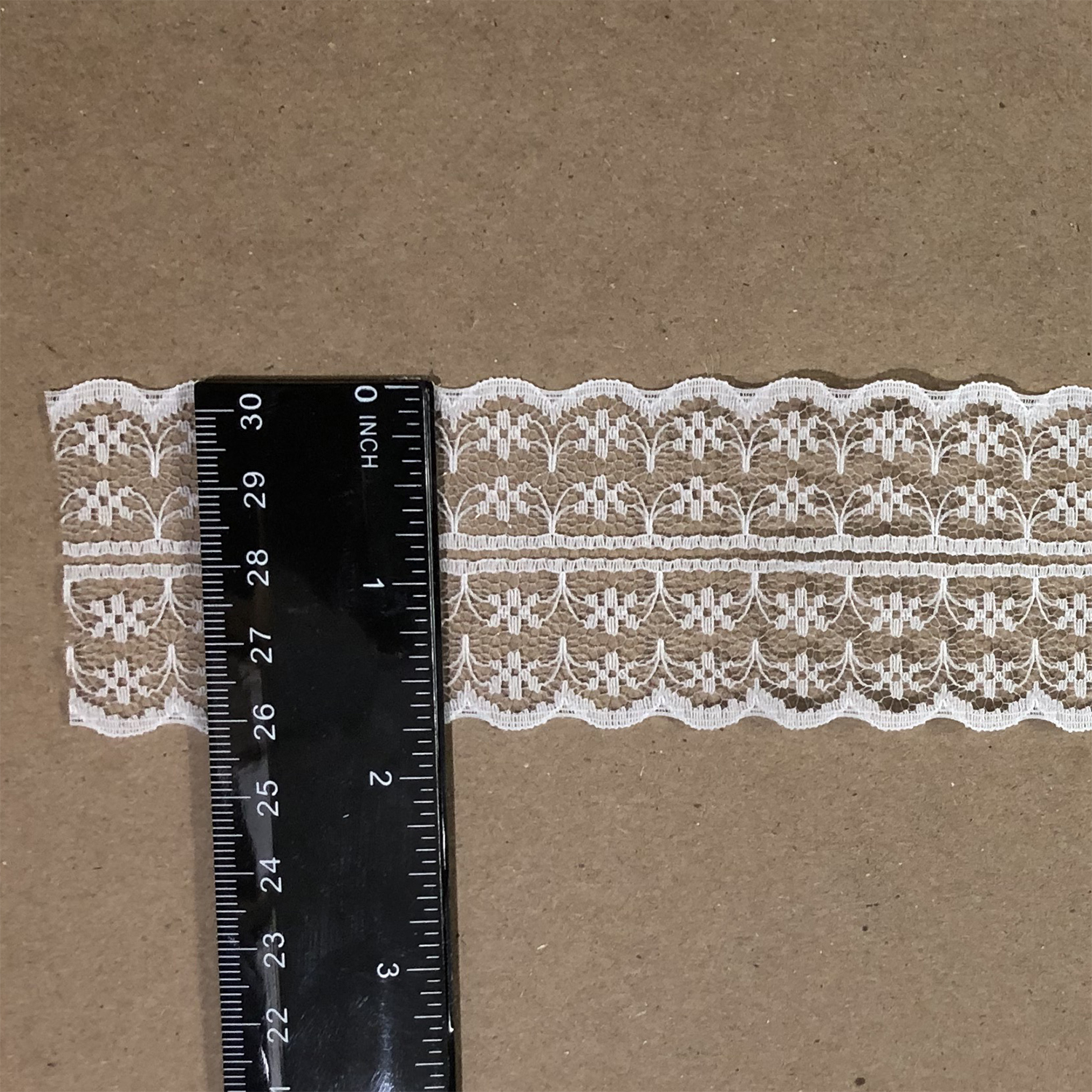 "Lace Bilateral 1-7/8"" White 5 yards"