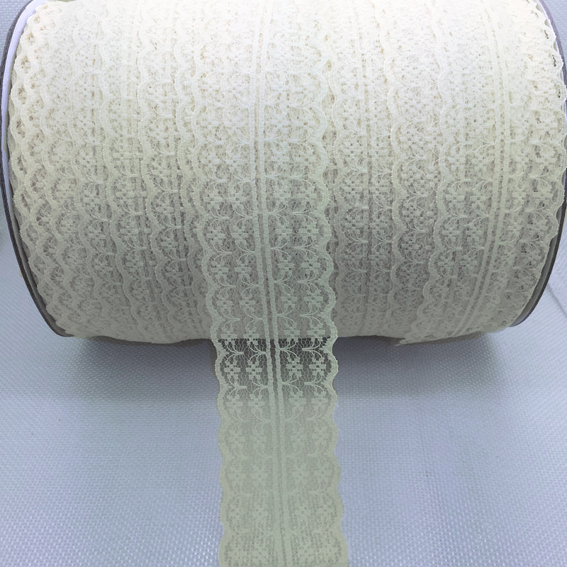 "Lace Bilateral 1-7/8"" Cream 5 yards"