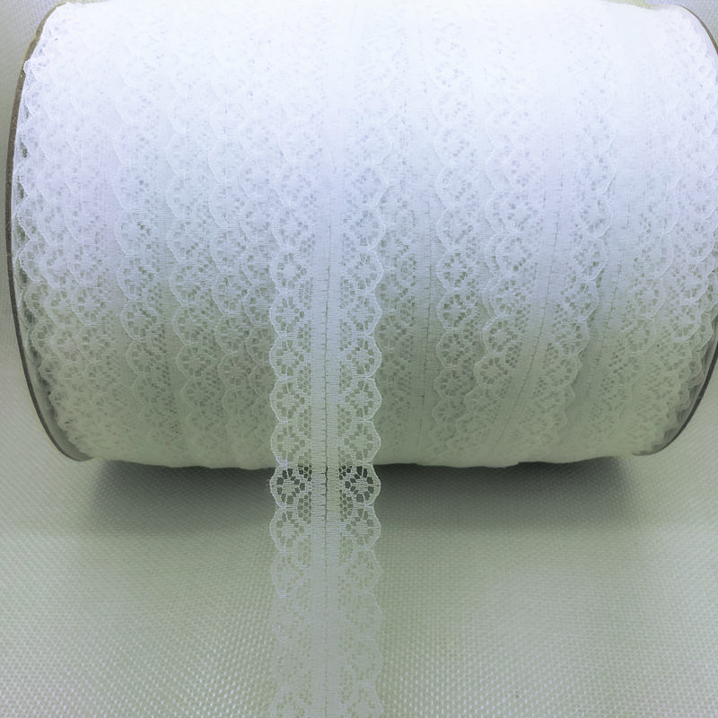 "Lace Bilateral 1"" White 5 yards"