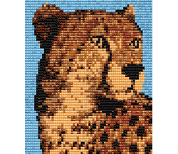 Cheetah (loom or square stitch)