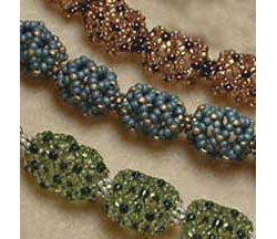 Chain of Hollow Beaded Beads
