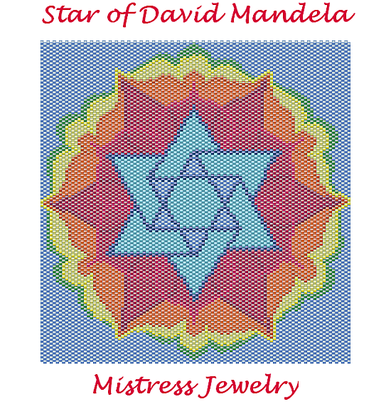 Star of David Mandela