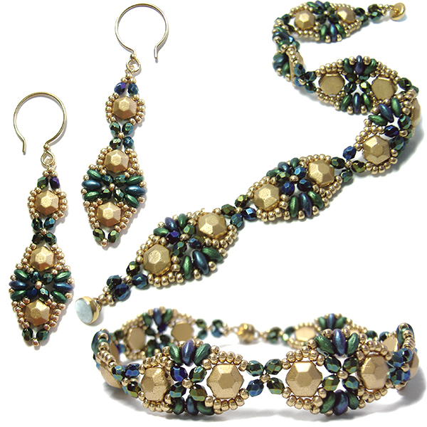 Babette Bracelet and Earrings