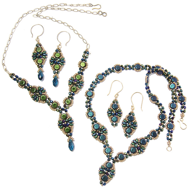 Babette Necklace and Earrings