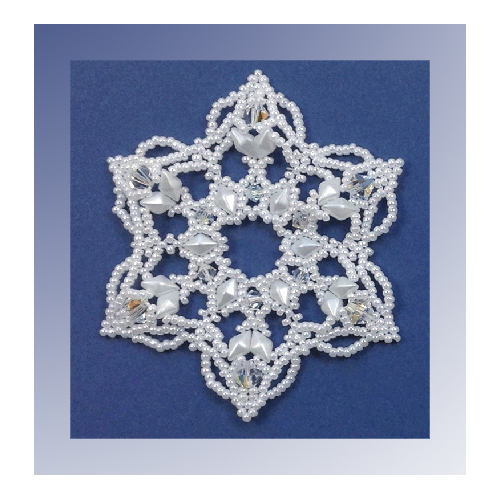 Snowflake #111 Ornament Pattern