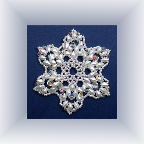 Snowflake #119 Ornament Pattern