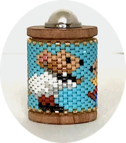 Mouse Doctor Spool Ornament