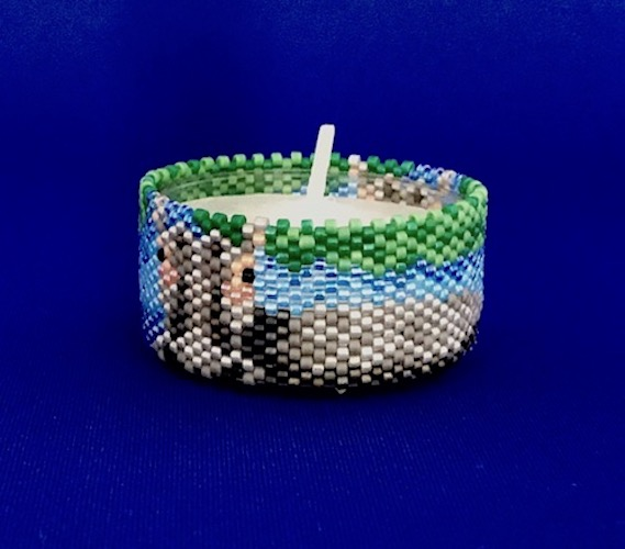 Hippo Tea Light Cover / Napkin Ring