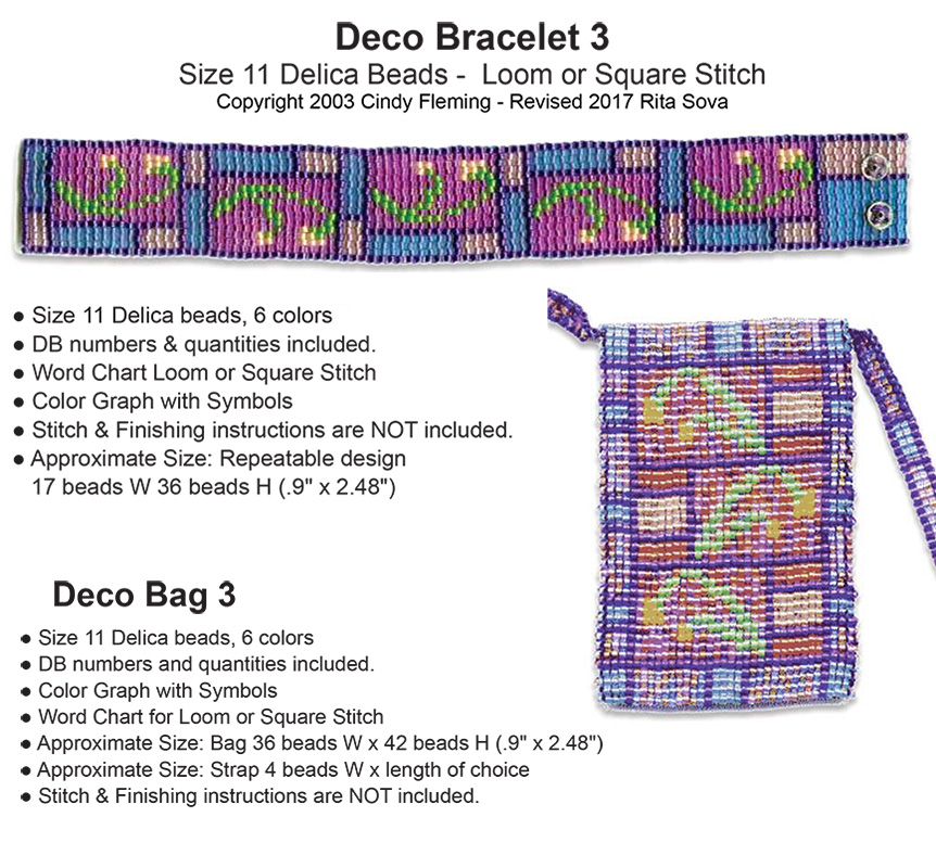 Deco Bag 3 and Deco Bracelet 3