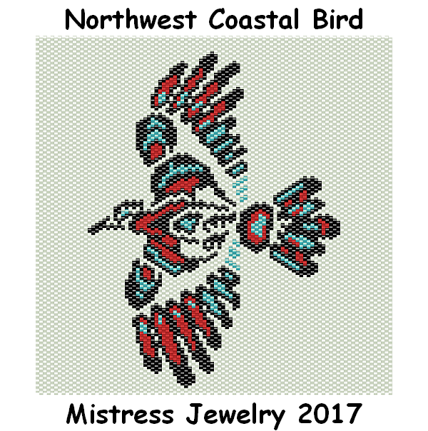 Northwest Coastal Bird Word Map & Chart