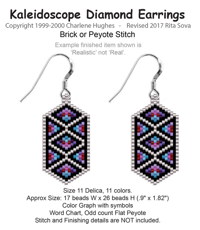Kaleidoscope Diamond Earrings