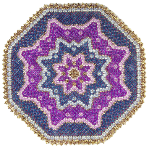 Flowers of Color Doily