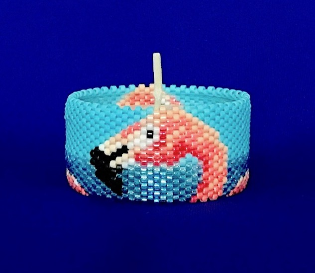 Flamingo Tea Light Cover / Napkin Ring