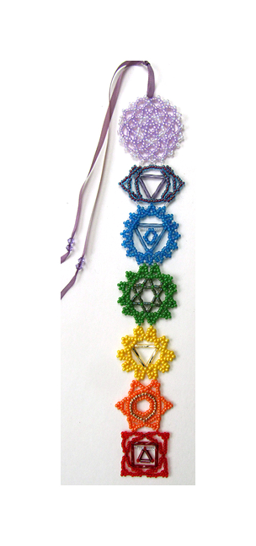 Chakra Bookmark or Hanger Pattern