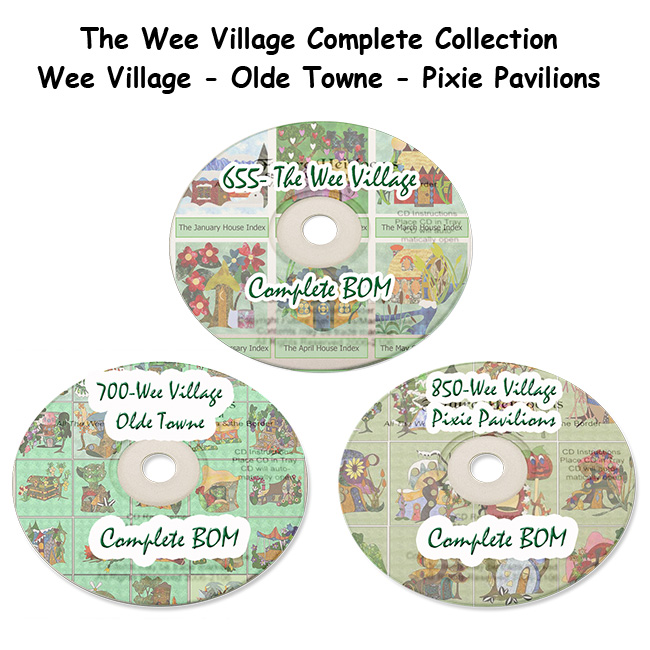 Wee Village Complete Collection BOM (CD)