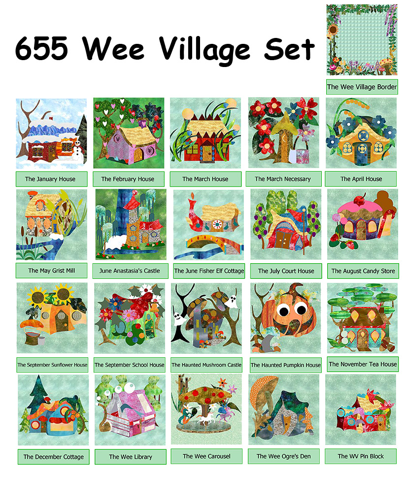 655-Wee Village BOM (PDF Download)