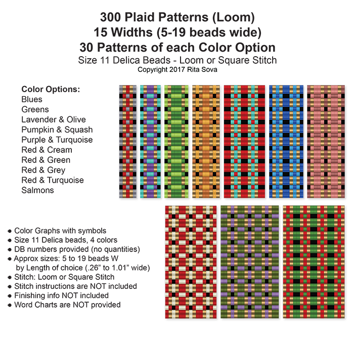 300 Plaid Patterns (Loom)