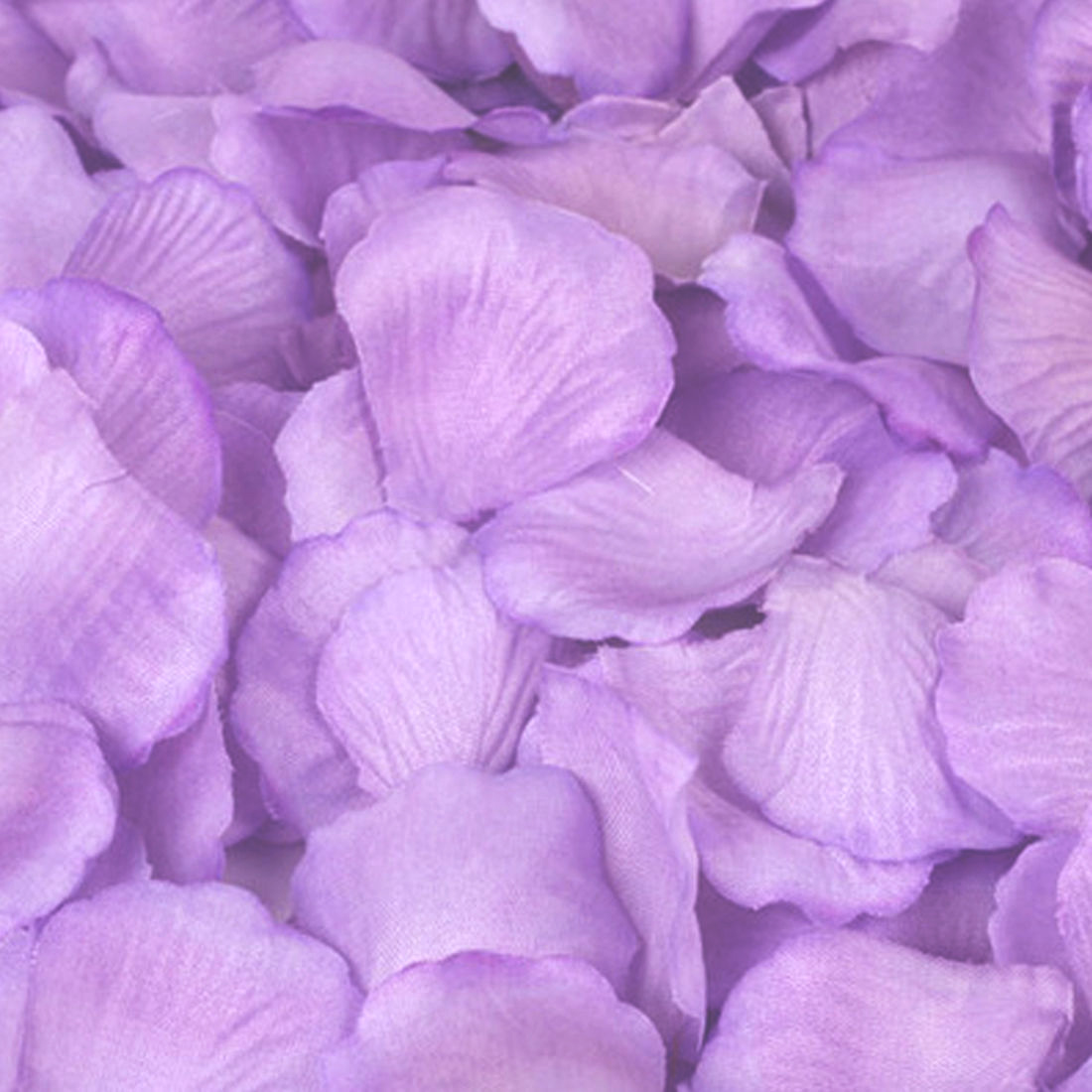 Silk Rose Flower Petals (100 pack) Lavender