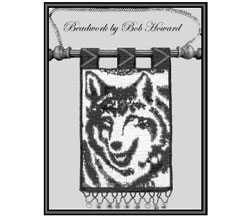 Tapestry Wolf