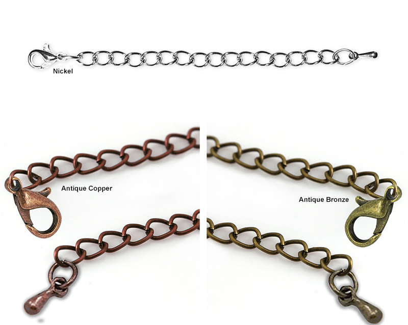 "Chain Extensions 3"" Mix 2 (3 Pack)"