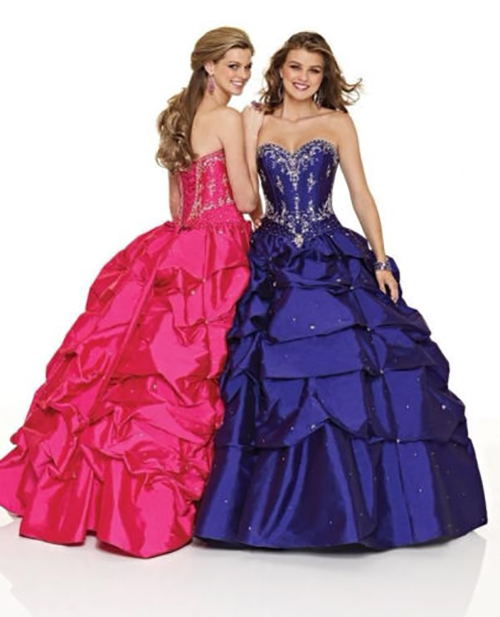 Fuchsia Quinceanera Debutante, Prom, Wedding Party Dress Size 8