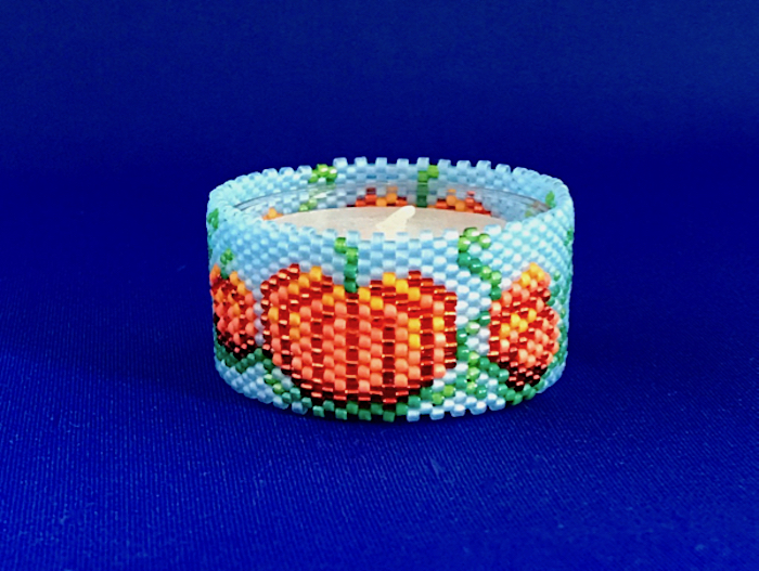 Pumpkins Tea Light Cover / Napkin Ring