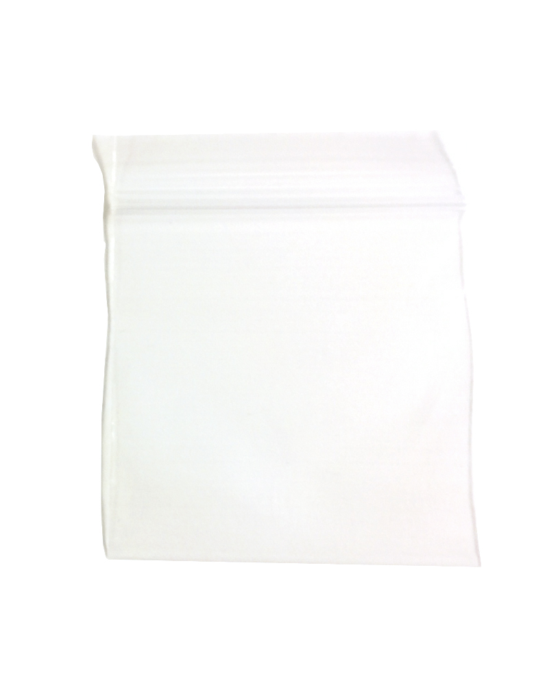 "Recloseable Zip Bags 2mil 1.5"" x 1.5"" Clear (100)"