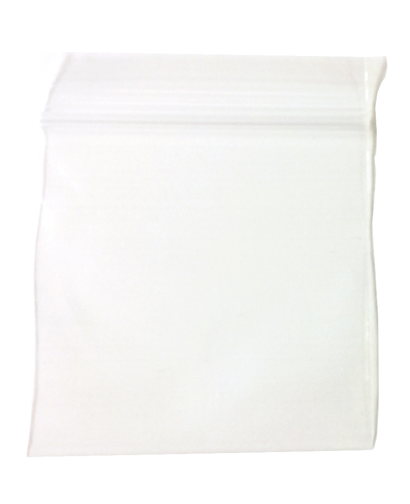 "Recloseable Zip Bags 2mil 2"" x 2"" Clear (100)"